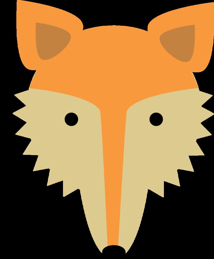 Jackal head pencil and. Nose clipart fox