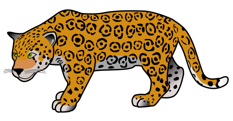 Sad clipart jaguar. Clip art black and