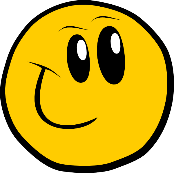 Moving faces clip art. Writer clipart face smiley