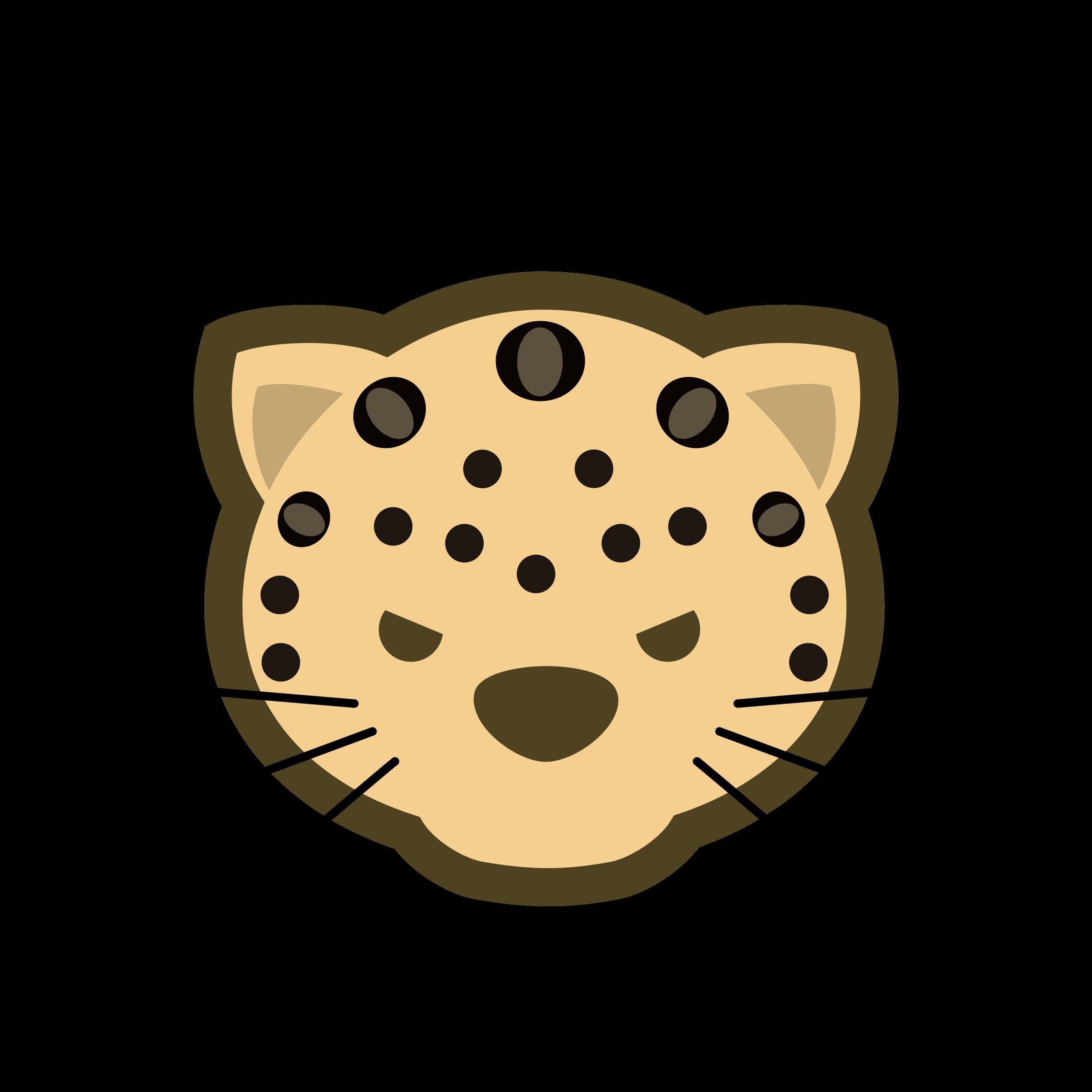 Clipart face leopard. Free on dumielauxepices net
