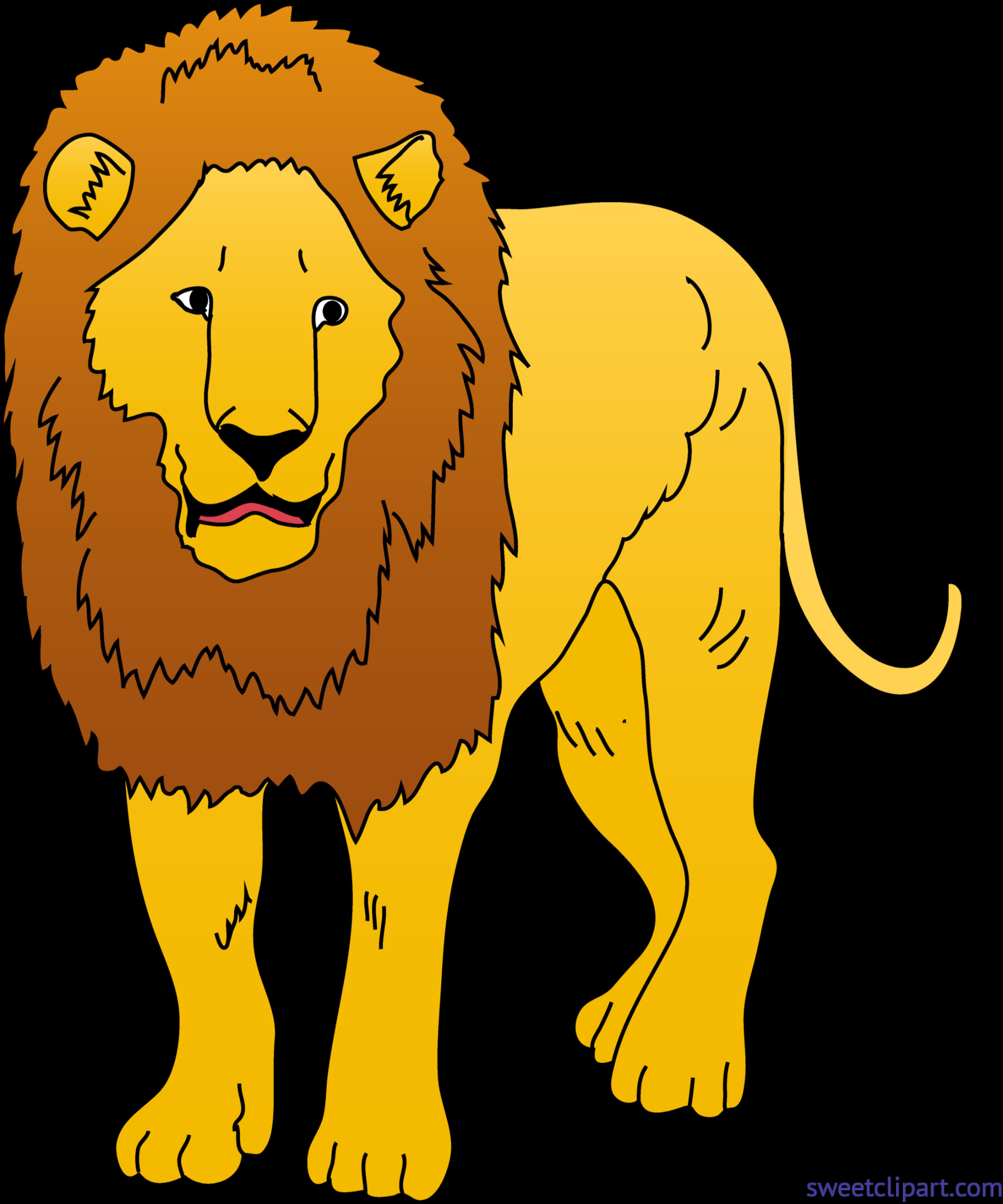 lions clipart couple