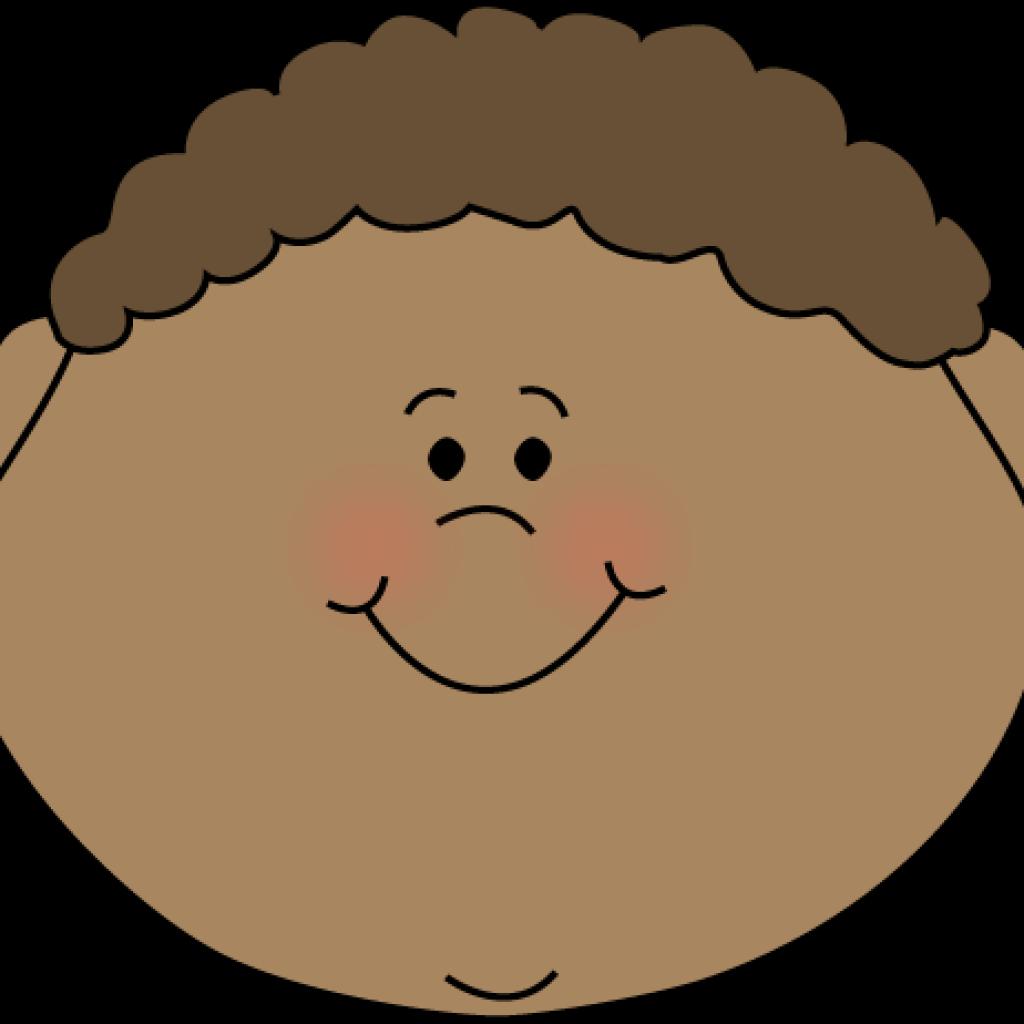 Clipart face little boy. Sun hatenylo com happy