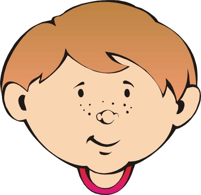 Faces clipart little boy. Free cartoon face download