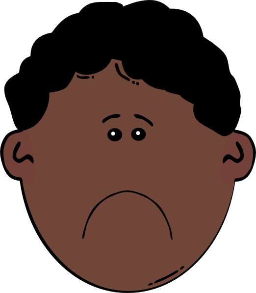 Guy clipart friend boy. Sad black jpg big