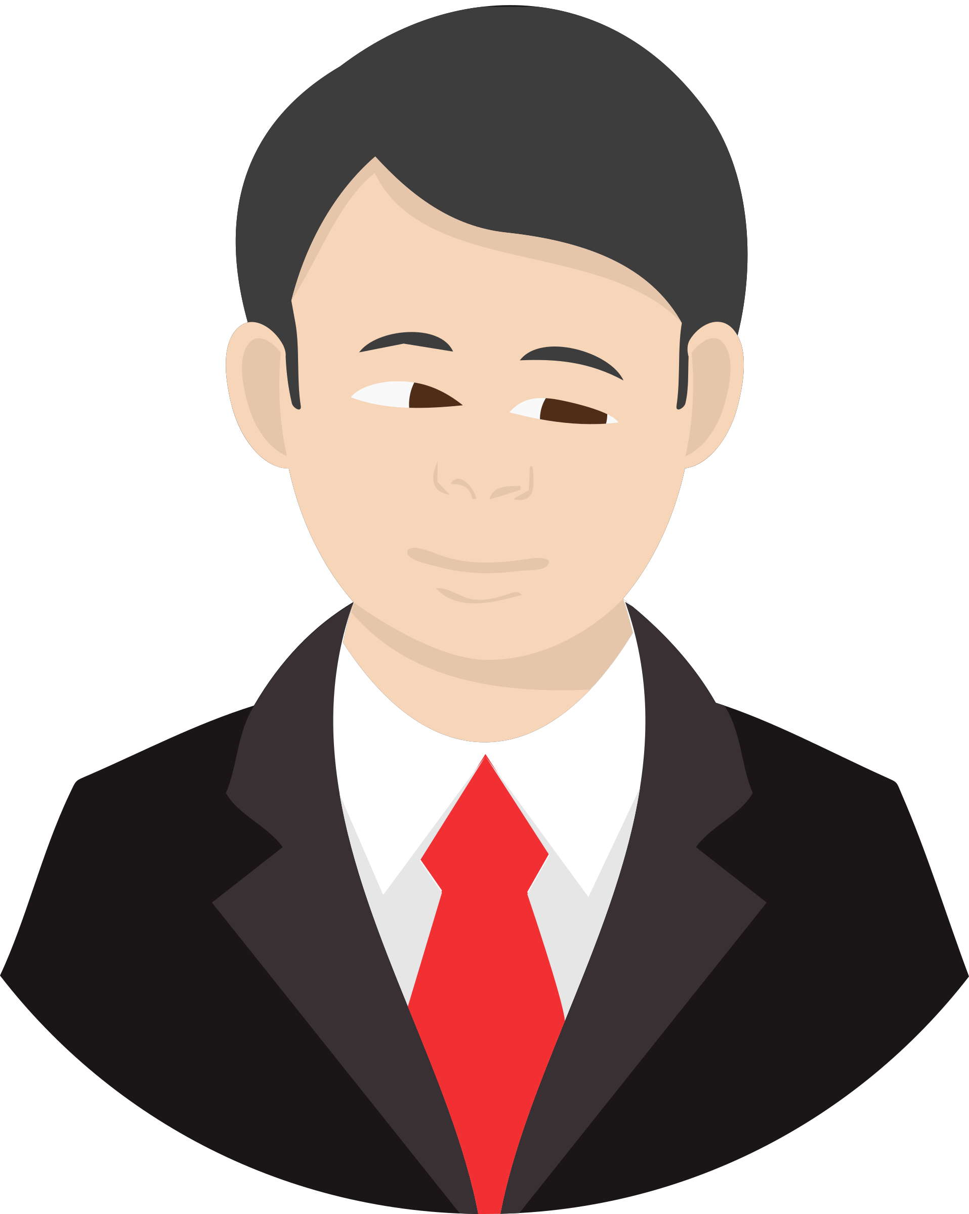 Face man big image. Faces clipart male character