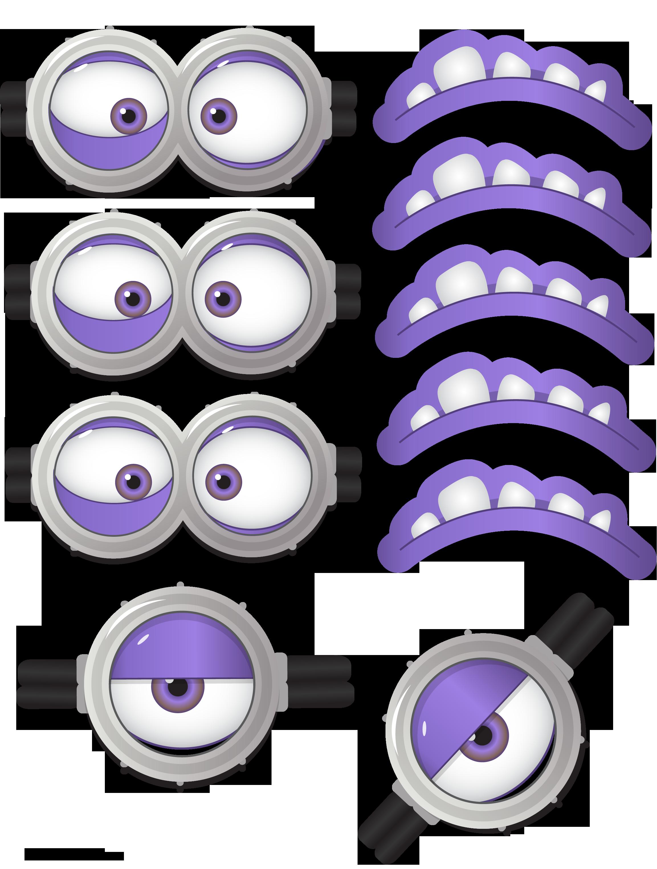 Minion clipart purple thing, Minion purple thing ...