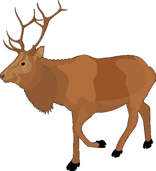 Cartoon moose free clip. Clipart reindeer pretty