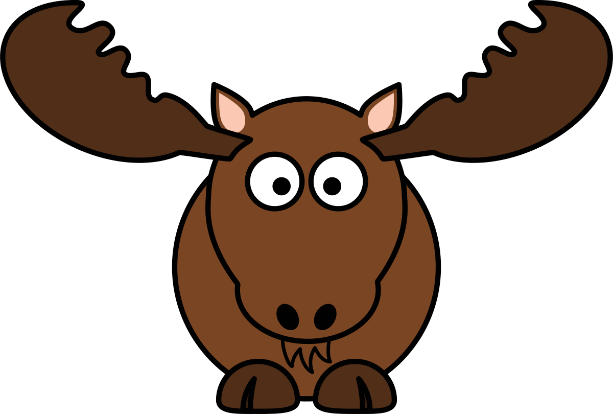 Hunting clipart moose hunting. Cartoon by studiofibonacci cliparts