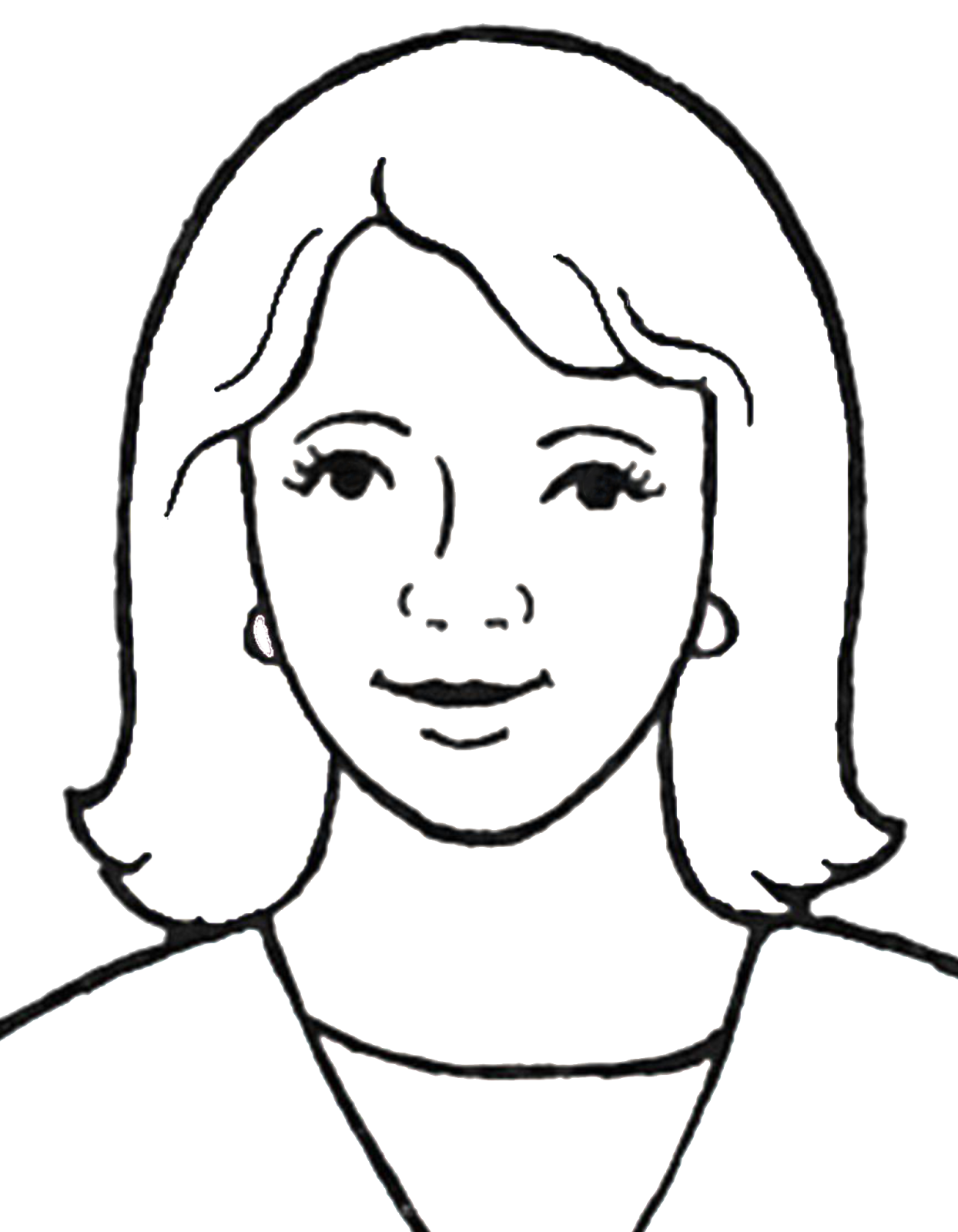 collection of mother. Clipart mom outline