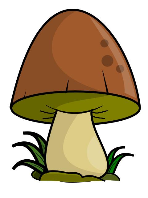 Mushroom clip art misc. Telephone clipart cabin
