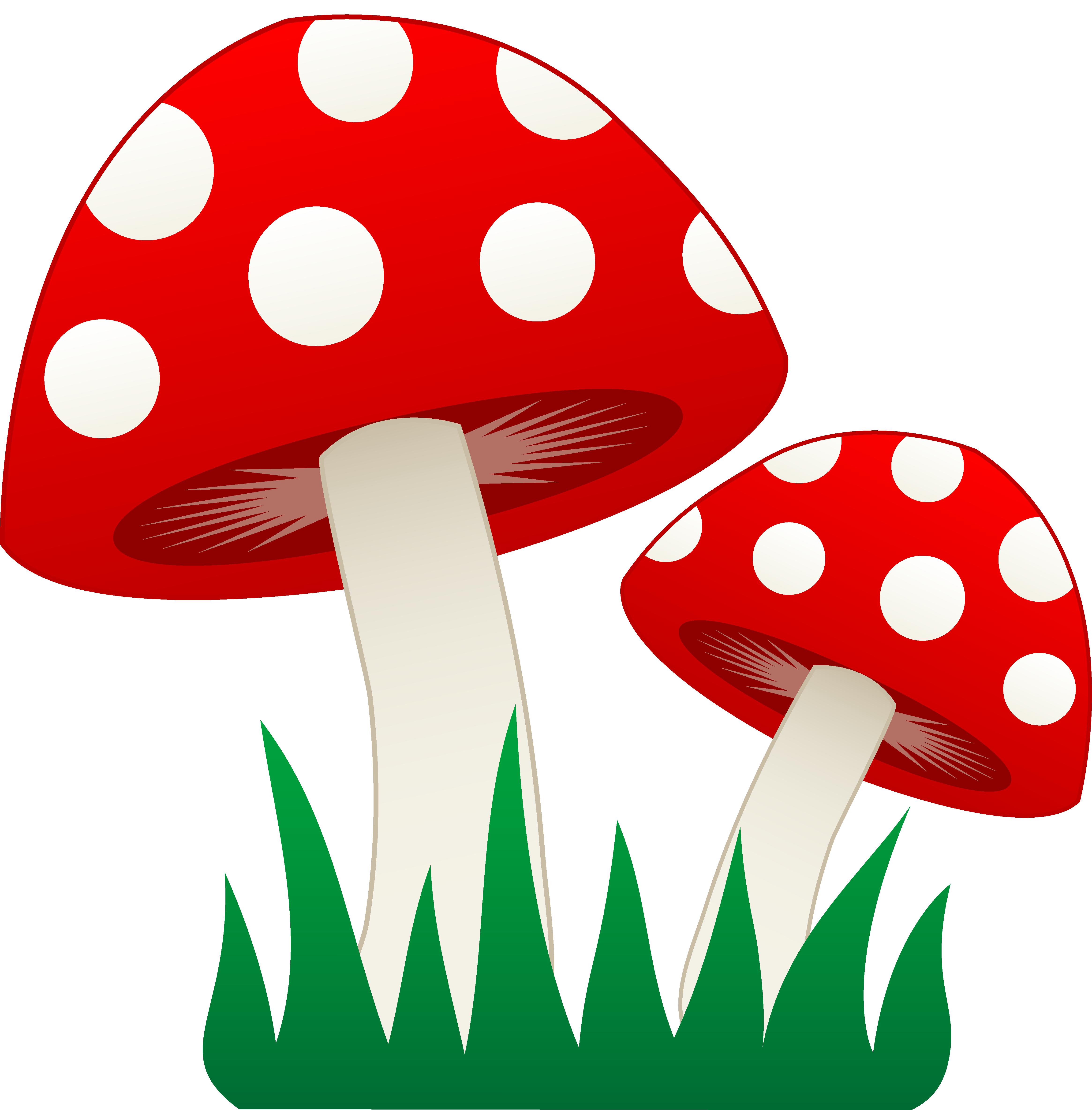 mushrooms clipart cute sun cartoon