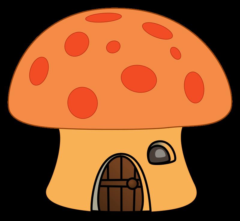 Art mushroom clip cliparts. Mushrooms clipart happy
