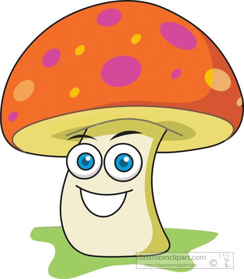 Mushrooms clipart kid. Mushroom cartoon face station