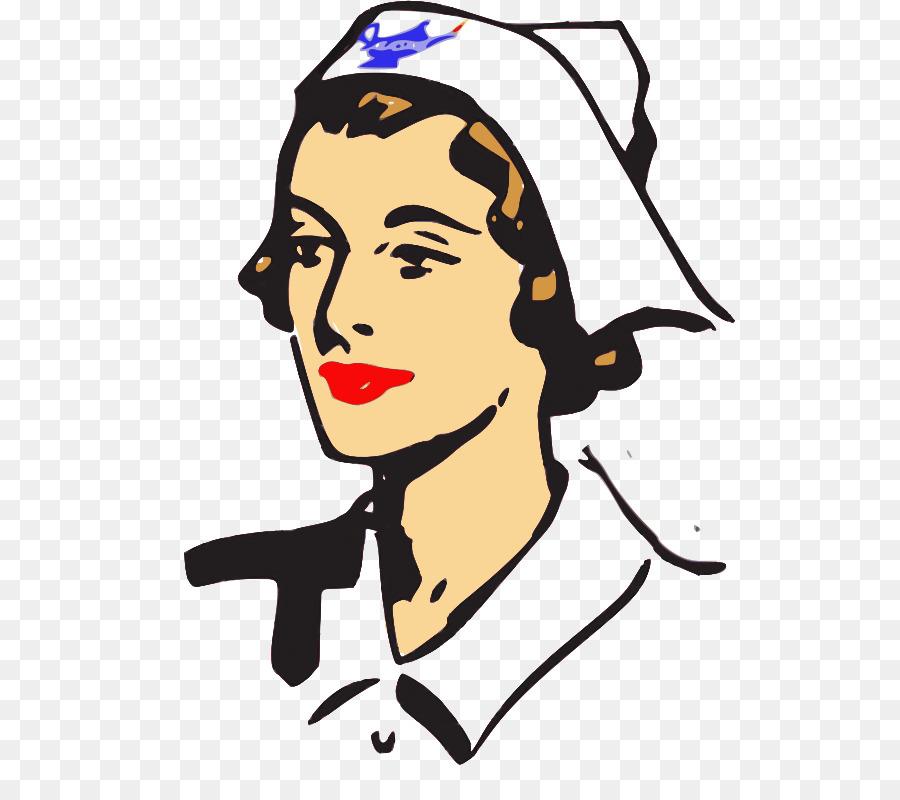 Nursing clipart head nurse. Cartoon medicine face transparent