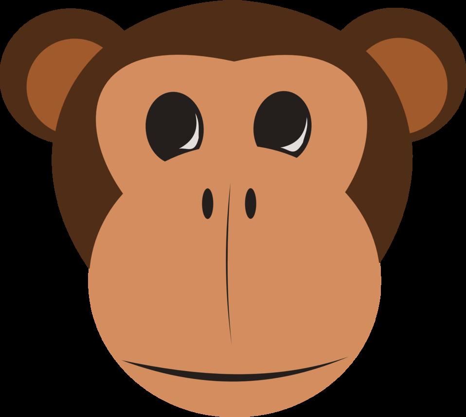 Clipart face orangutan. Public domain clip art