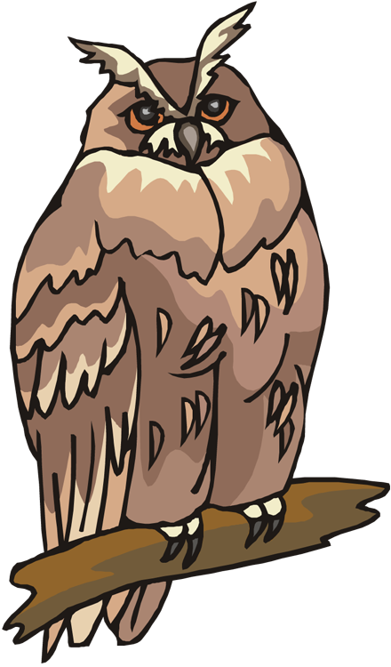 Groundhog clipart face. Free owl
