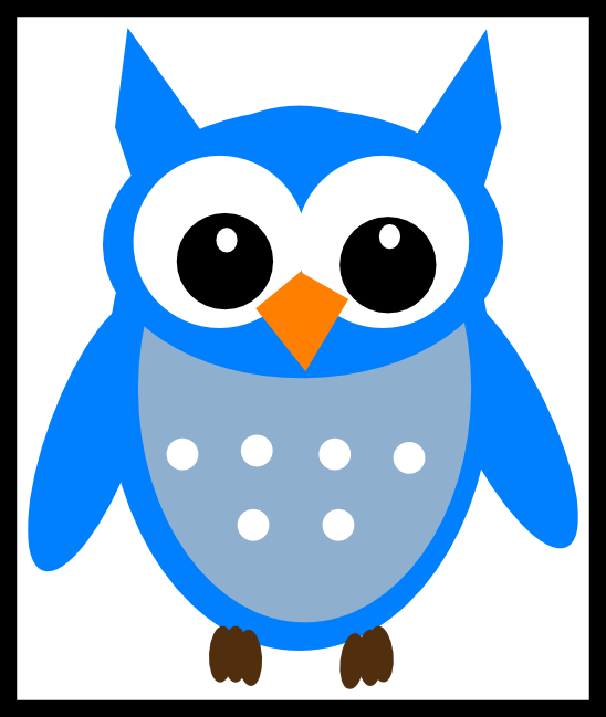 Clipart face owl. The best three family
