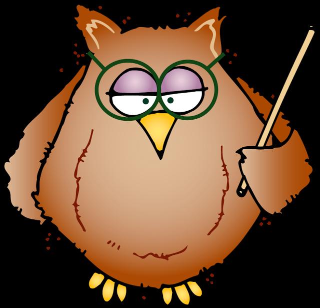 Test clip art owl. Clipart homework spelling homework