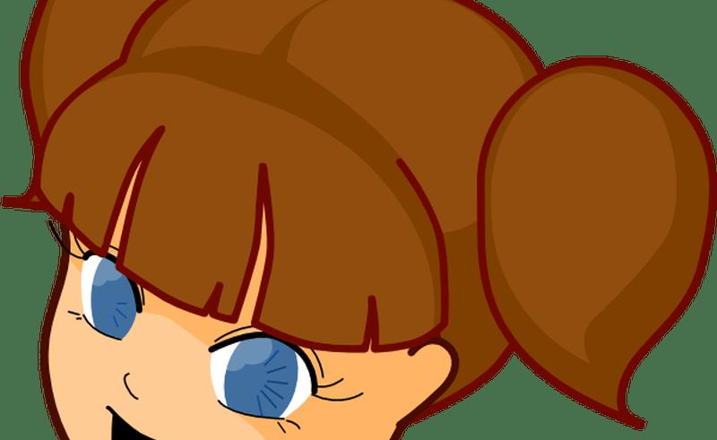 Serious face clip art. Colors clipart brown