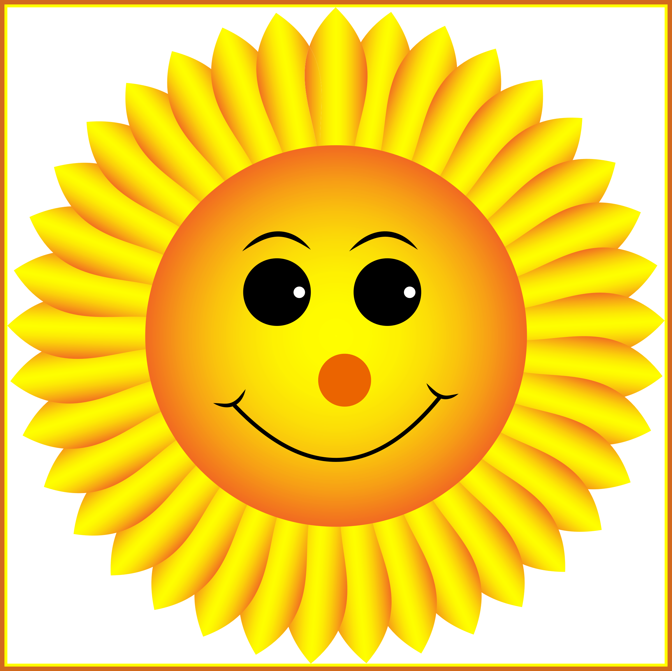 Incredible sunflower pencil and. Clipart png face