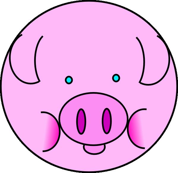 hog clipart happy pig