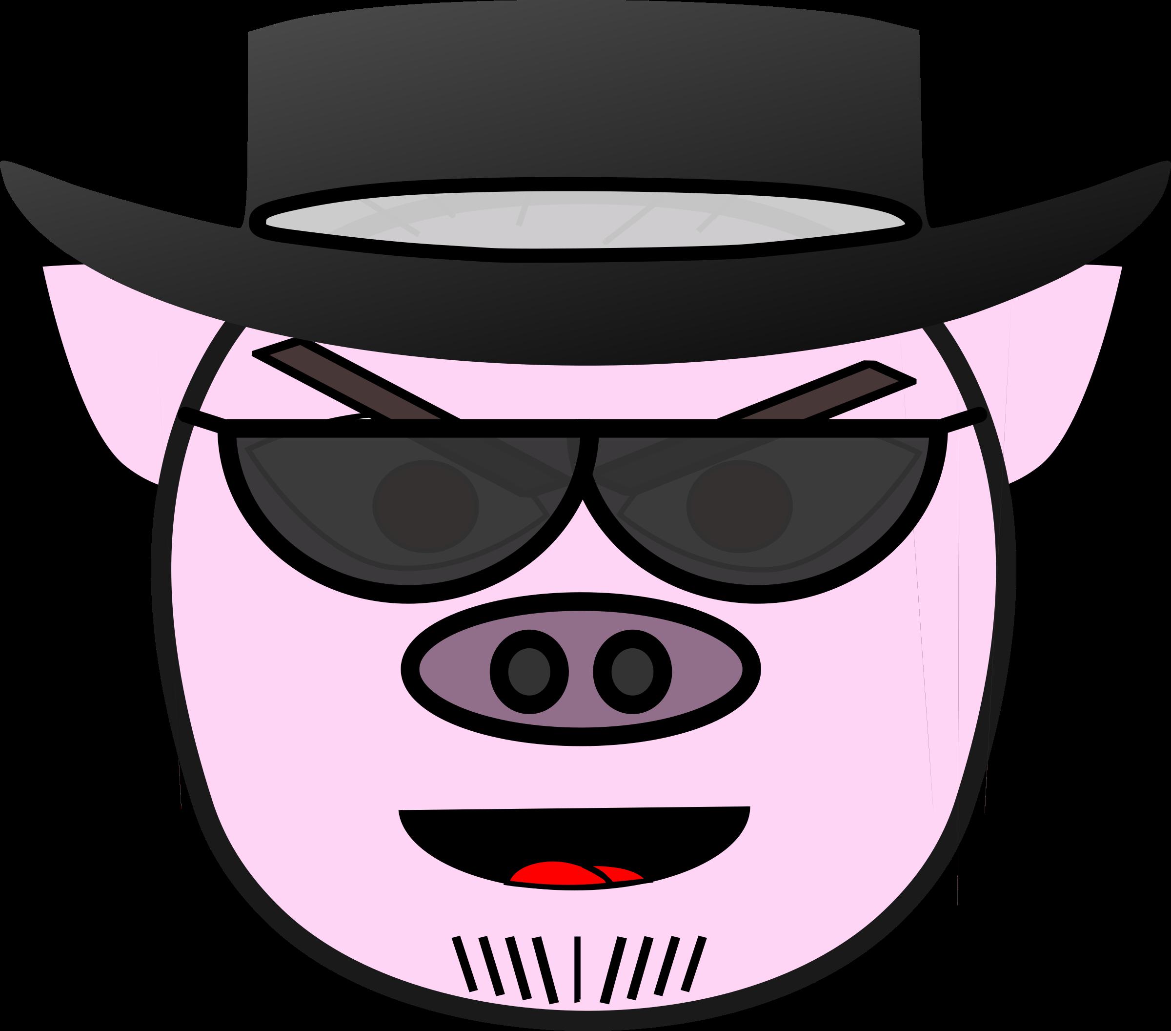 Evil big image png. Mouth clipart pig