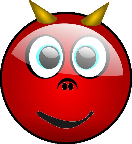 Devil face clip art. Clipart pig mouth