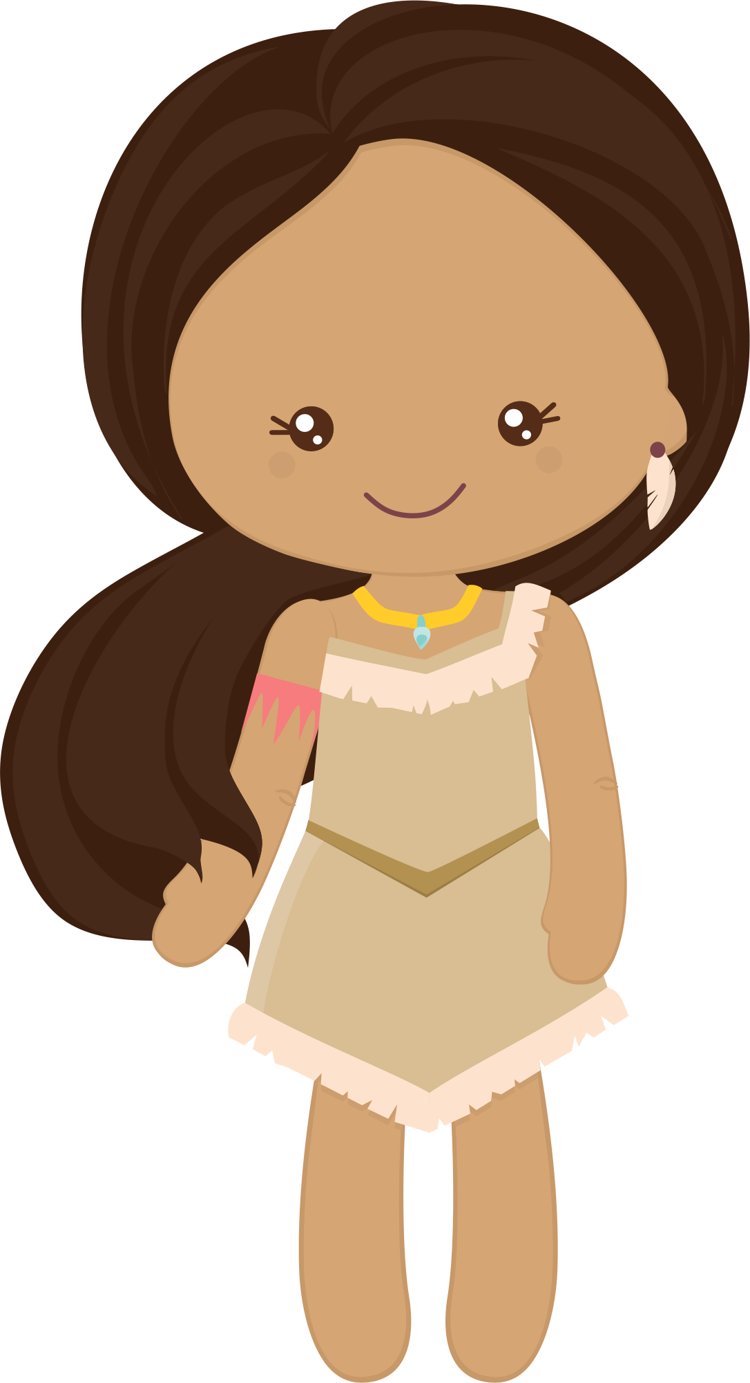 Pocahontas princess grafos littleprincess. E clipart little