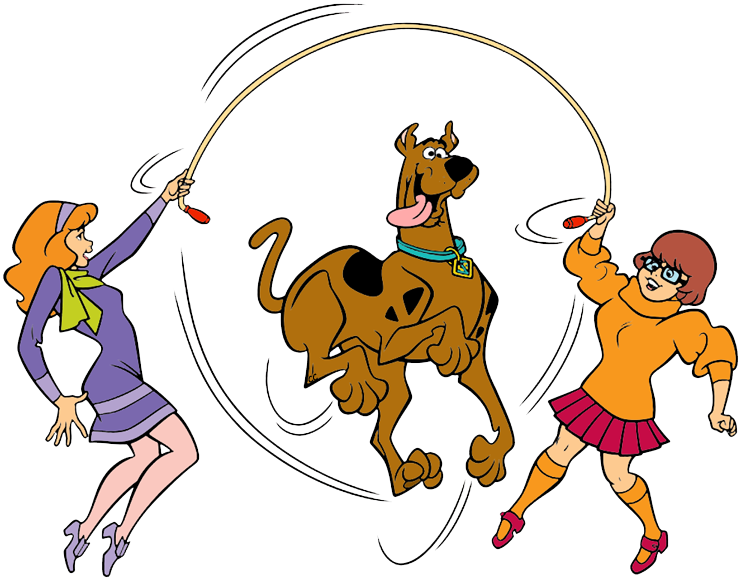Kangaroo clipart cartoon character. Scooby doo clip art