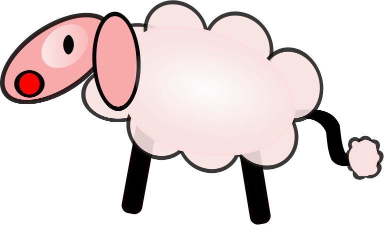 Clipart sheep ewe. Download clip art free