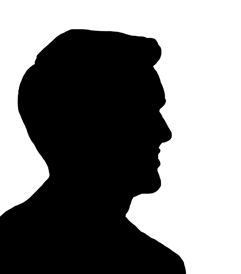 Lock clipart silhouette. Man at getdrawings com