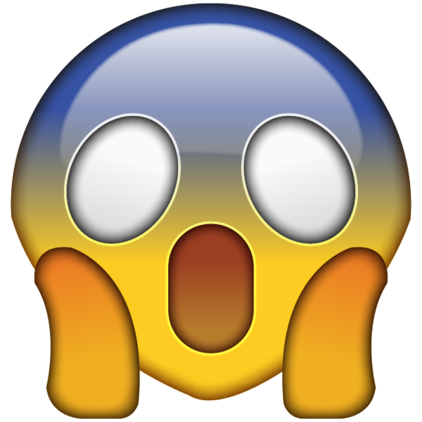 High resolution omg face. Surprise clipart emoji