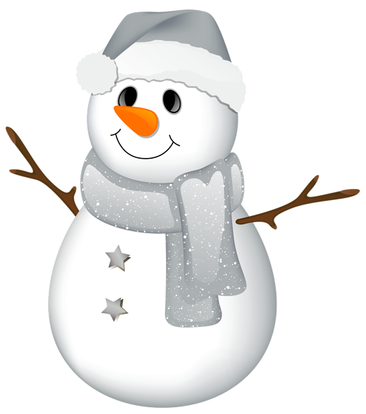 Snowman clipart colorful. Transparent with grey hat