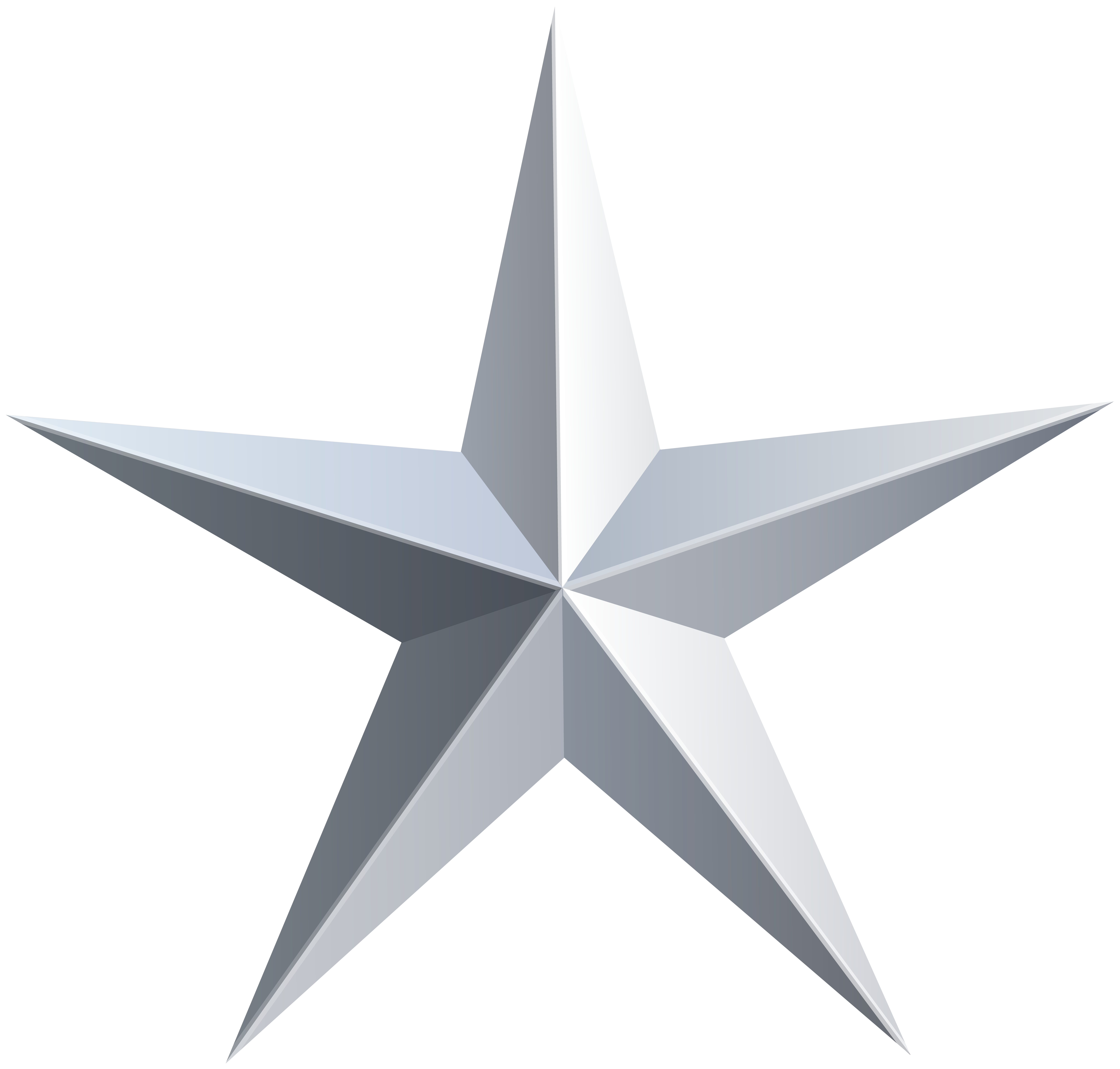 Clipart stars transparent background. Free silver star cliparts