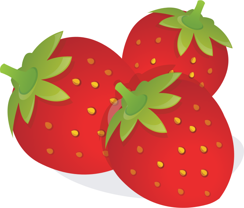 Strawberry free to use. Strawberries clipart face