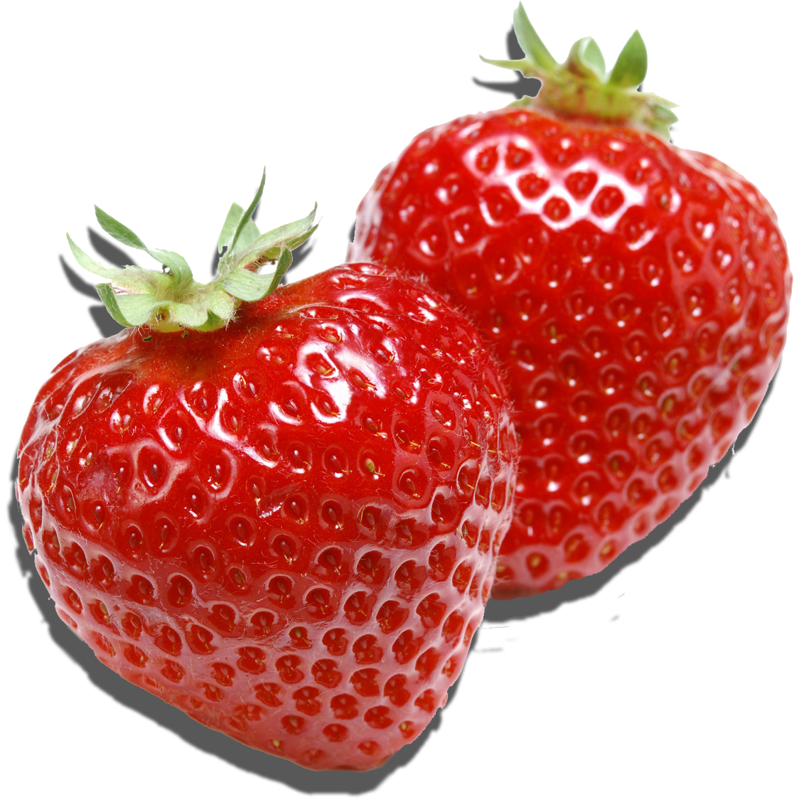 Strawberry fifty four isolated. Strawberries clipart face