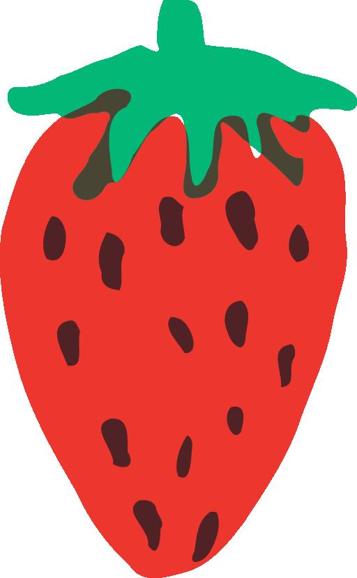 Strawberries clipart strawberry sundae. I royalty free public