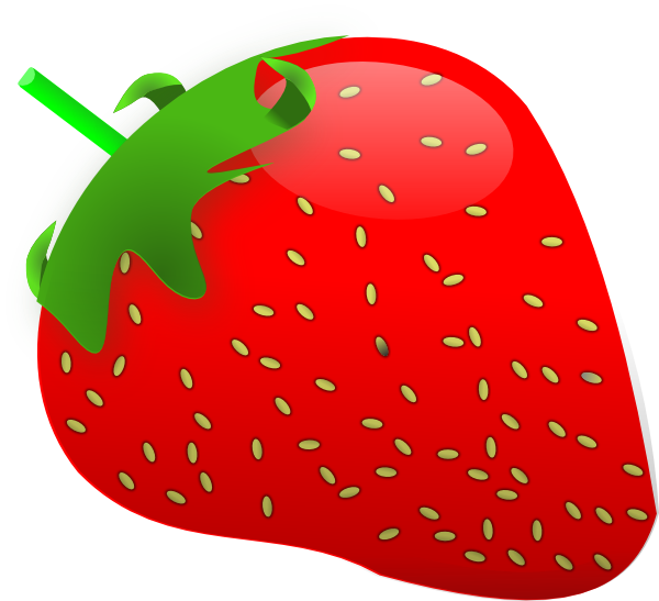 Strawberry clip art at. Strawberries clipart face