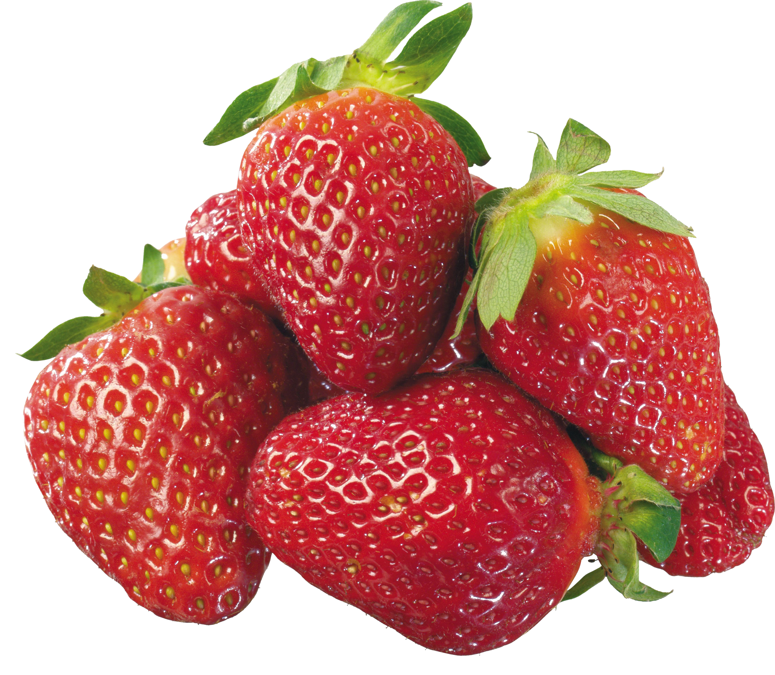 Strawberries clipart face. Strawberry nine isolated stock