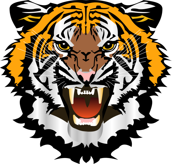 Clipart face tiger.  collection of transparent