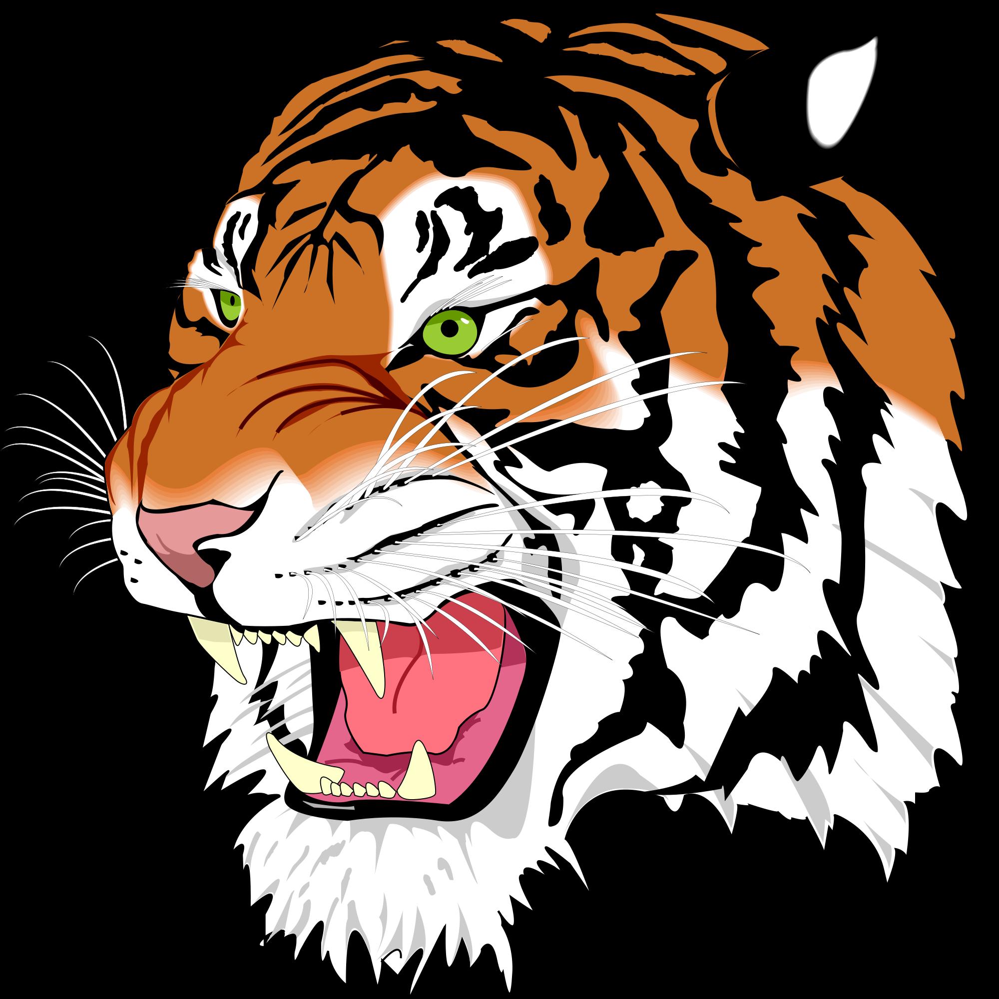 clipart tiger school