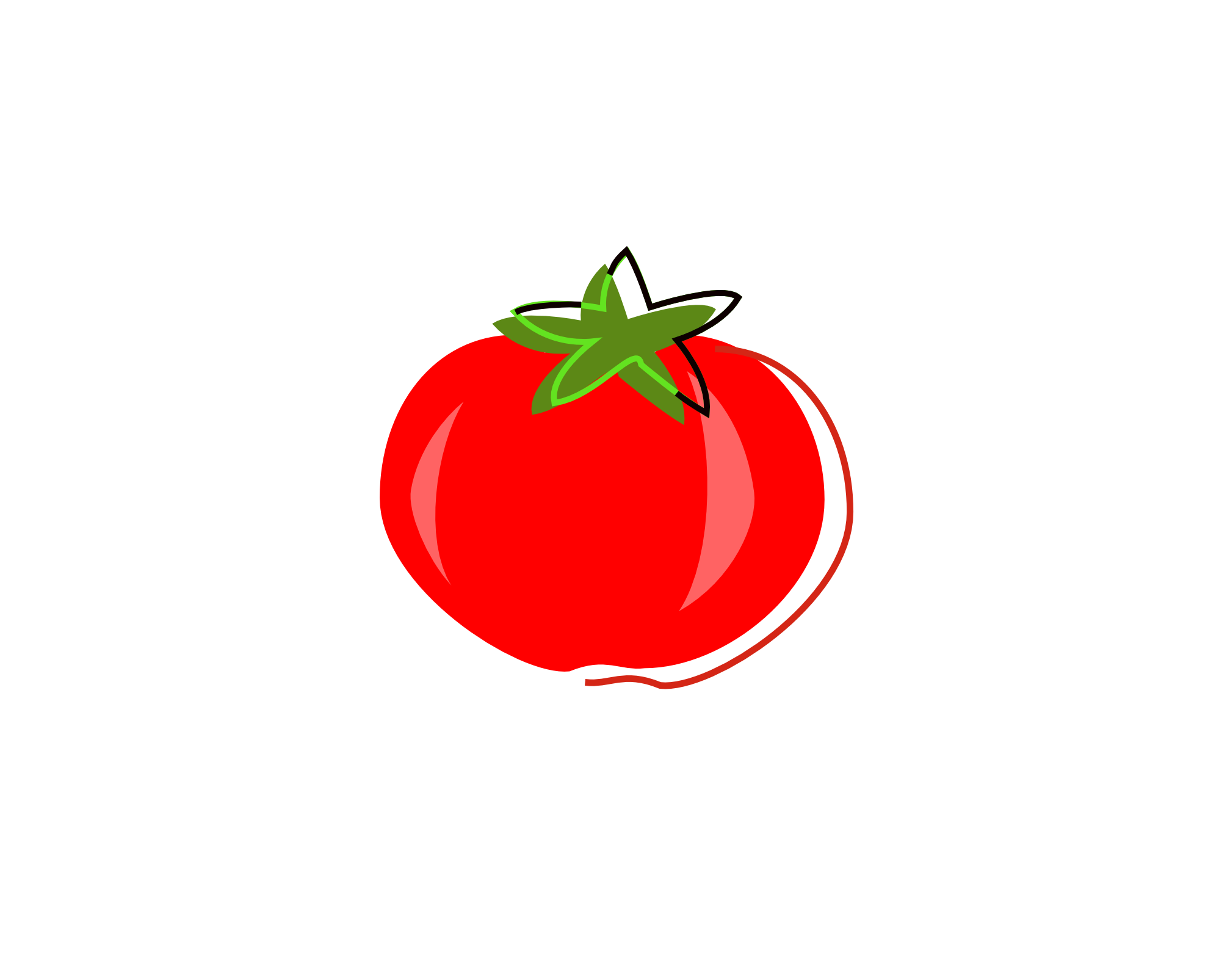 Best tomato clipartion com. Tomatoes clipart svg