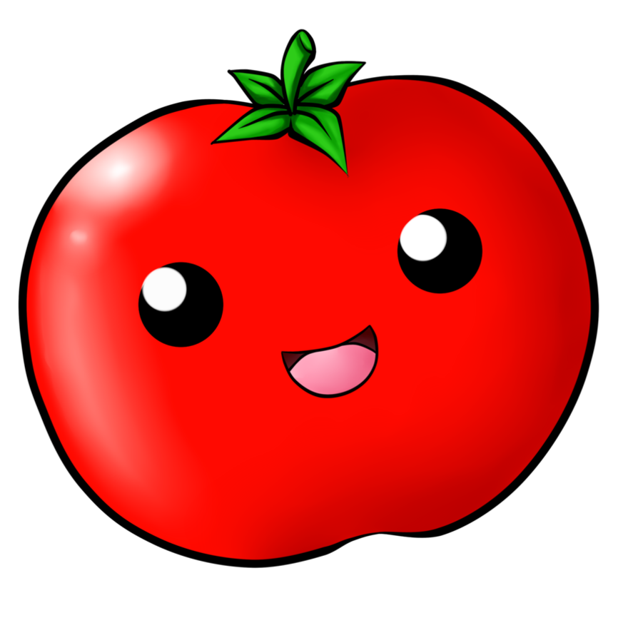 collection of cute. Tomatoes clipart happy tomato
