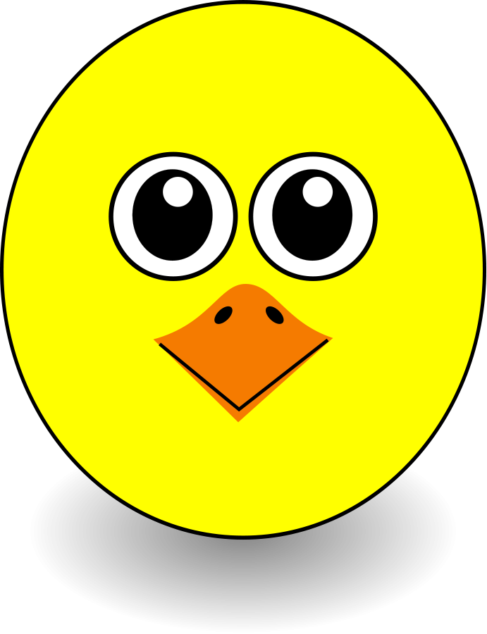 Clipart face tortoise. Chick chicken free collection