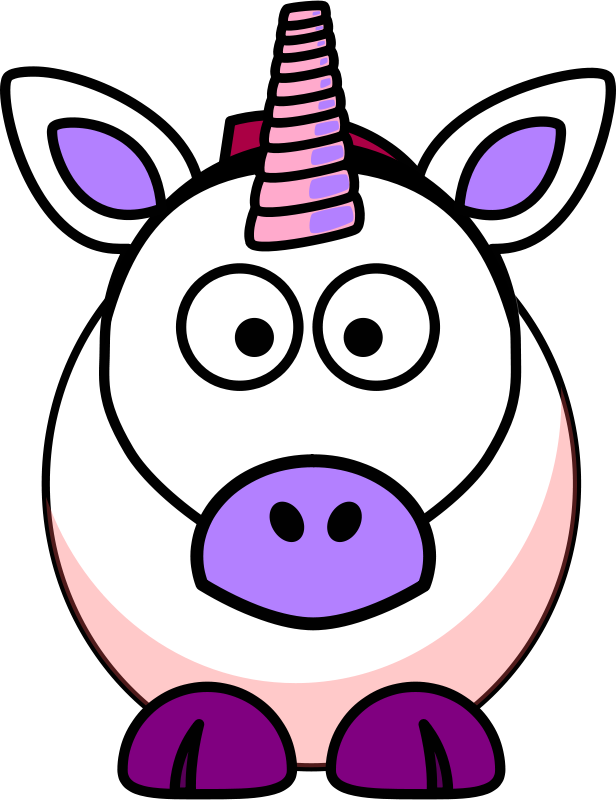 Unicorn head at getdrawings. Yearbook clipart cartoon