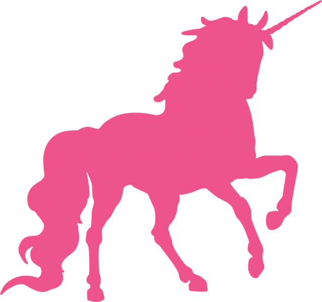 Silhouette head at getdrawings. Clipart unicorn shape