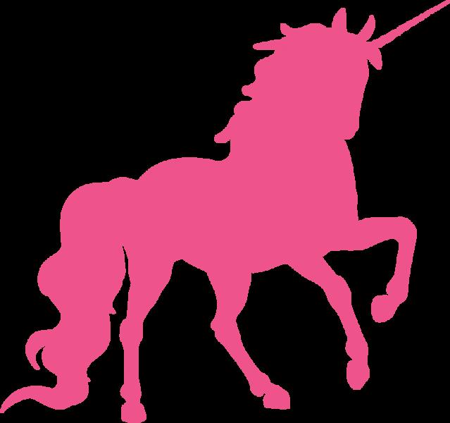 Silhouette head at getdrawings. Fairies clipart unicorn