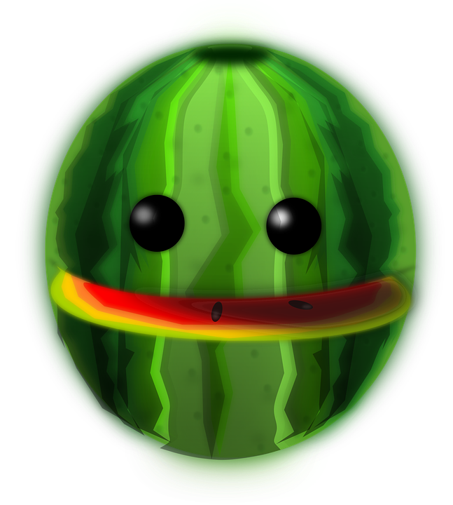 Image shop of library. Clipart face watermelon