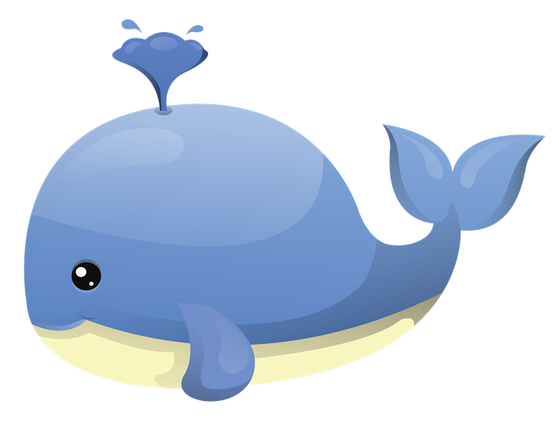 collection of images. Clipart face whale
