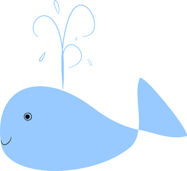 Collection of cartoon blue. Water clipart vector